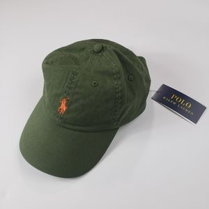 Polo By Ralph Lauren Hat Olive Green (Unisex)